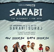 Kenya Nights Live pres. SARABI