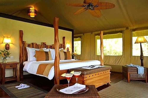 Getaway to Sarova Mara Game Camp