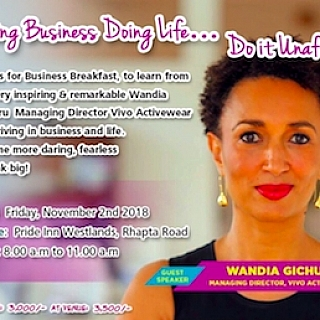 Business Breakfast with Wandia Gichuru