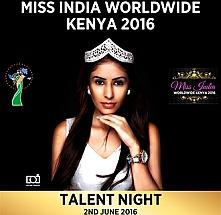 Miss India Worldwide Kenya 2016- Talent Night