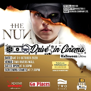 THE NUN -  Drive In Cinema at Two Rivers