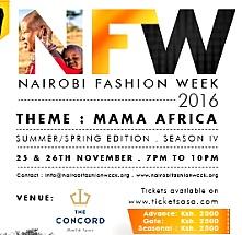 Nairobi Fashion Week Season IV Spring/Summer