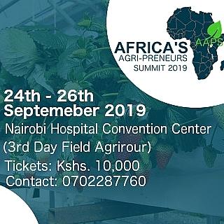 AFRICAS AGRIPRENEURS SUMMIT 2019