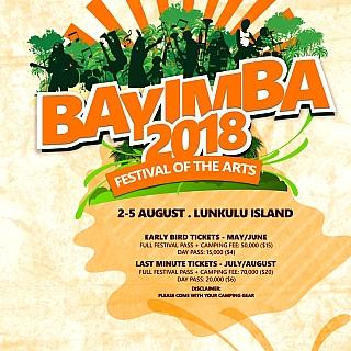 BAYIMBA INTERNATIONAL FESTIVAL – 2018