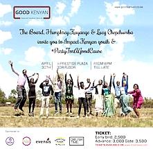 #PartyForAGoodCause with The Good Kenyan