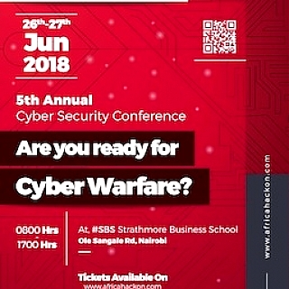 AfricaHackOn 2018 : Are you ready for cyber warfare