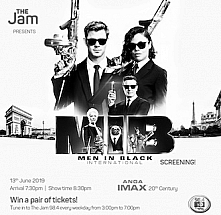 The Jam Presents: Men In Black International Screening!