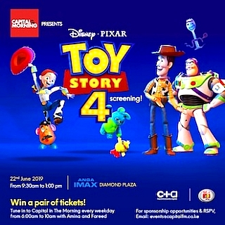 Capital In the Morning Presents: Toy Story 4 Screening