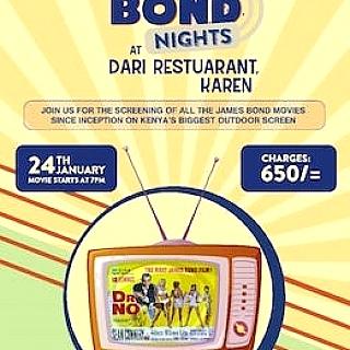 Bond Nights at Dari Restaurant