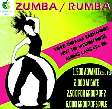 Zumba/Rhumba Fitness Challenge with Weight Watchers Kenya