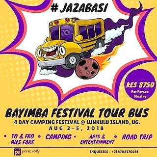 Bayimba Festival Tour Bus