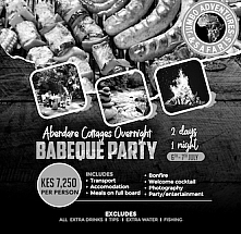 Barbeque Night: Aberdares Cottage Overnight