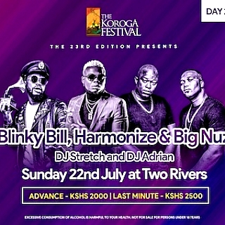 DAY 2: SUNDAY 22nd July: The Koroga Festival 23rd Edition