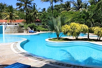 Package to Diani Sea Resort