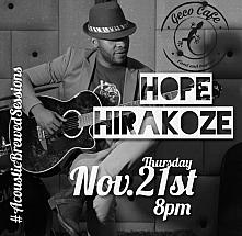 Thursday Live with Hope Hirakoze