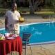 Ashnil Aruba Poolside lunch