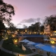 Baobab Beach Resort and Spa Triple Pool at Night