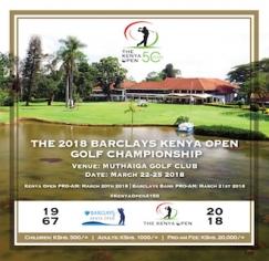 2018 Barclays Kenya Open