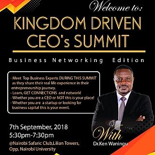 Kingdom Driven CEOs Summit