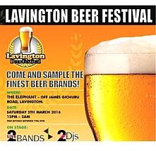 Lavington Beer Festival