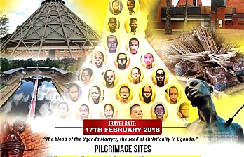 In the Foot Steps of the Uganda Martyrs