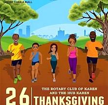 The Rotary Club of Karen and The Hub Karen Thanksgiving Charity Walk