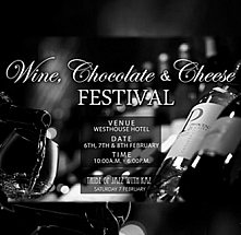 The Wine,Chocolate and Cheese Festival 2015