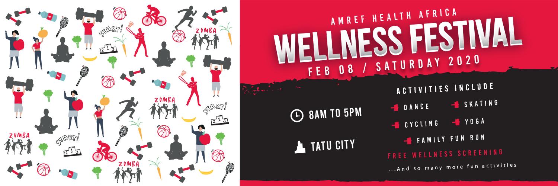 Amref Health Africa Wellness Festival 2020