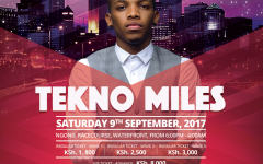 Tekno Miles In Kenya! Got Your Tickets Yet?