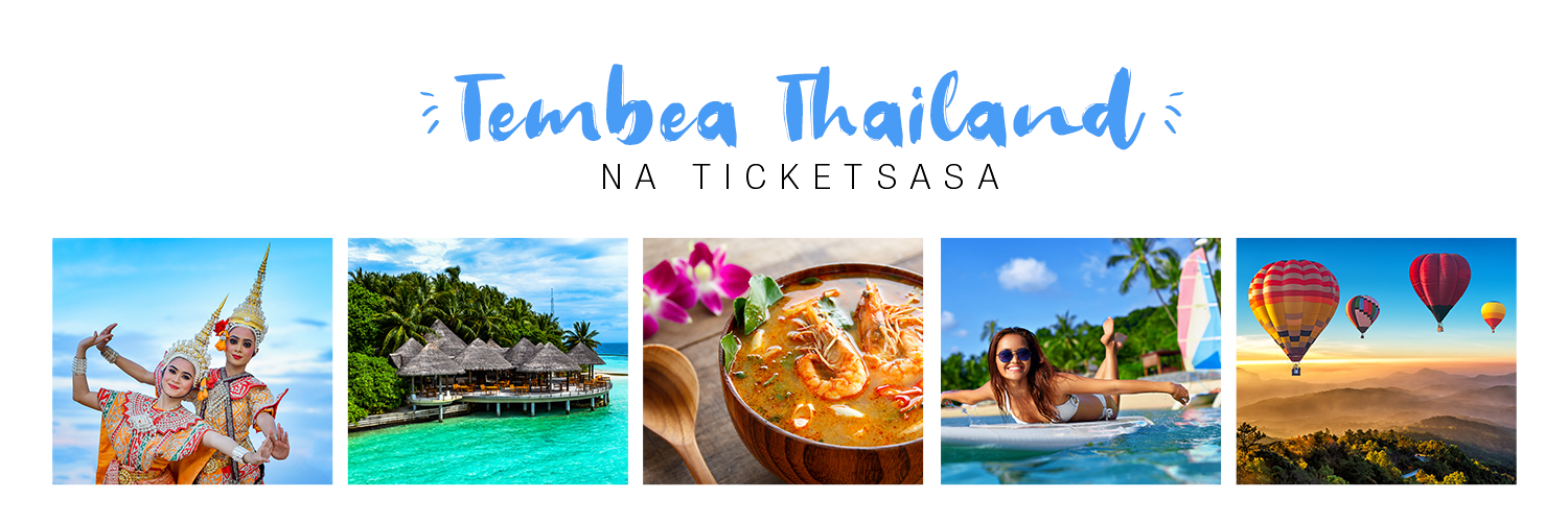 Twende Thailand na Ticketsasa