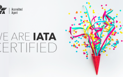 Hurray! We Are Now IATA Certified