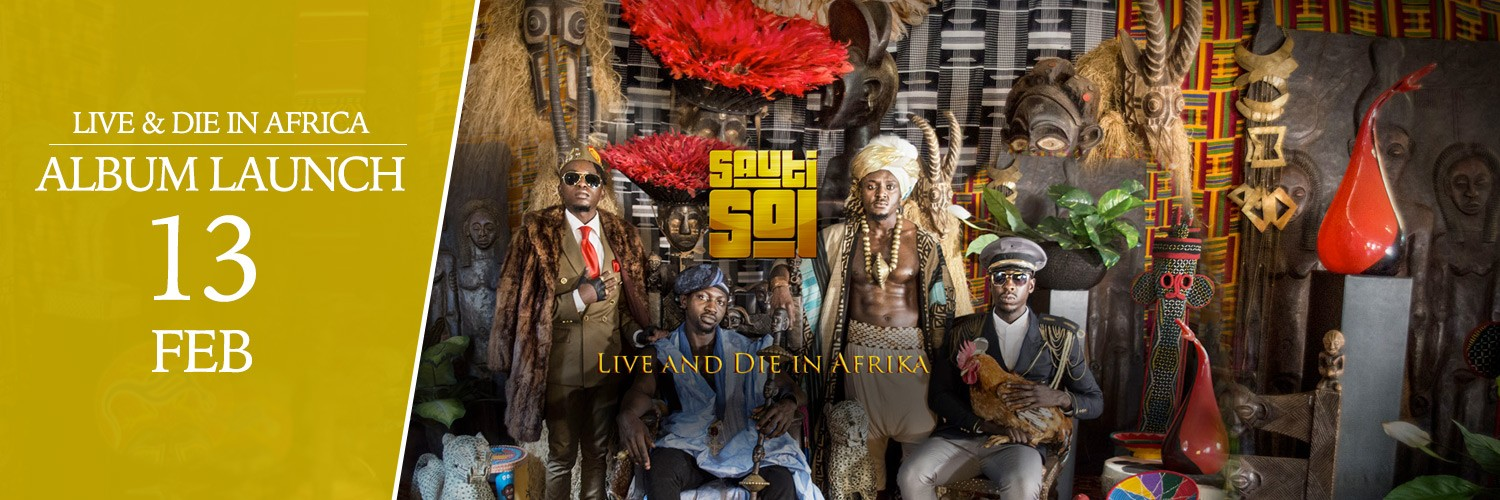 Sauti Sol - Live & Die in Afrika launch
